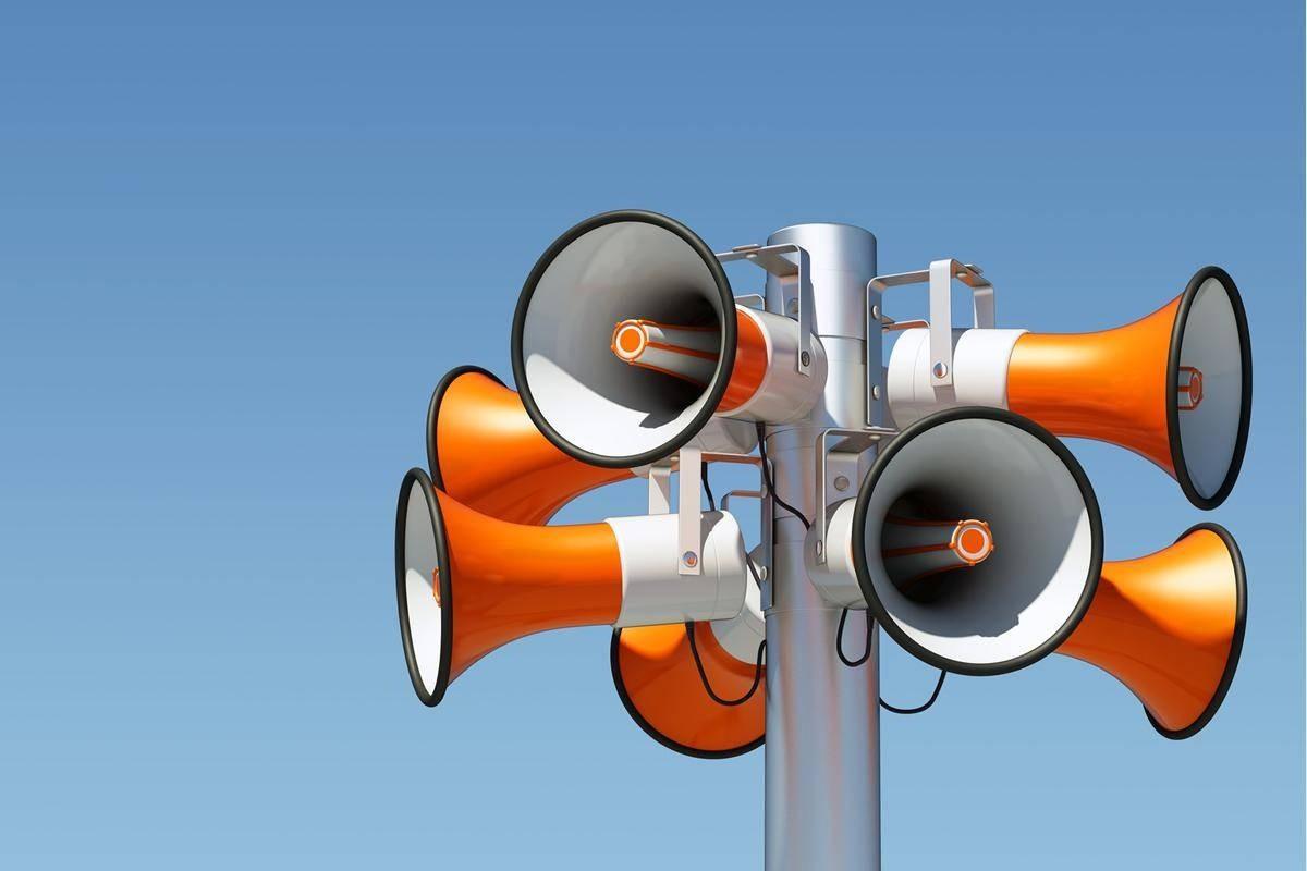 Проверка электросирен города