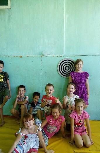 Площадка летнего досуга детей «Путешественники»