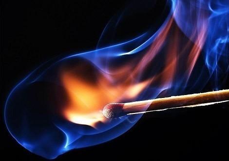 Детская шалость с огнем- частая причина пожаров