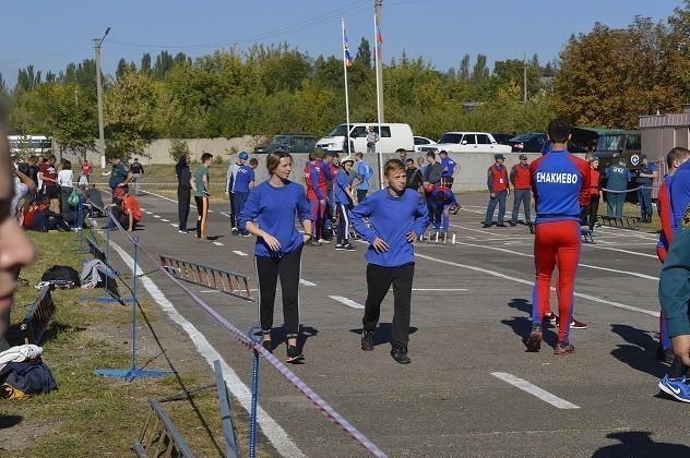 Соревнования по пожарно-спасательному спорту МЧС ДНР