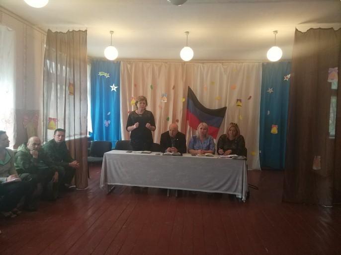Встреча  с жителями села Яковлевка