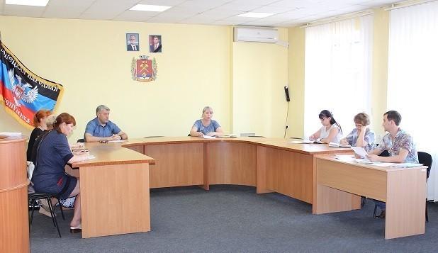 Заседание Рабочей группы по вопросам погашения задолженности по заработной плате