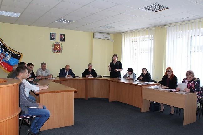 Встреча с работниками образования города Ясиноватая