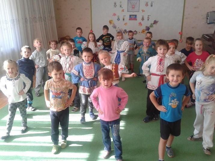 Фестиваль народных игр в дошкольном учреждении «Светлячок»