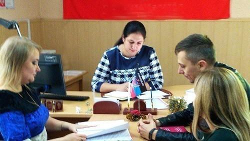Руководитель Ясиноватского горрайонного отдела юстиции  провела рабочее совещание с представителями  администрации г. Ясиноватая