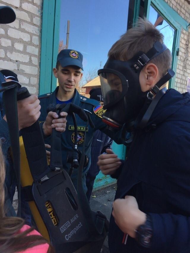 День открытых дверей в ГПСО города Ясиноватая