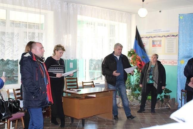 Встреча с жителями пос. Красный Партизан