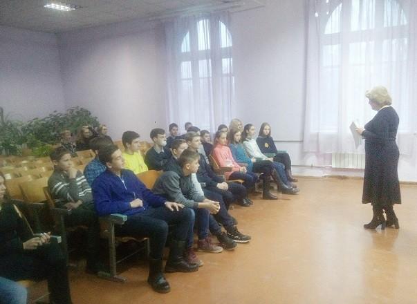 Школьникам Ясиноватой рассказали  о государственной власти и государственном устройстве ДНР