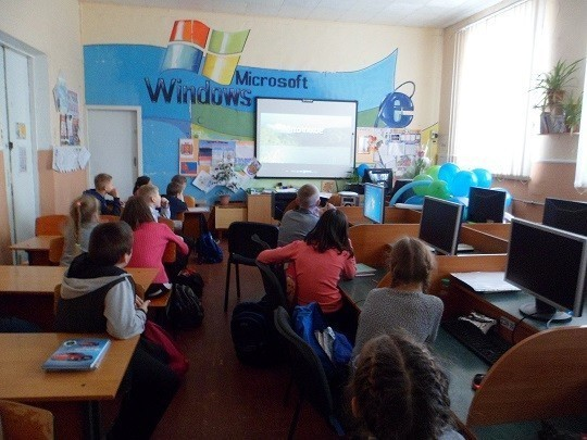 Школьникам Ясиноватой продемонстрировали  фильмы о Великой Отечественной войне
