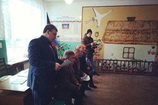 Рабочая встреча с жителями поселка Красный Партизан