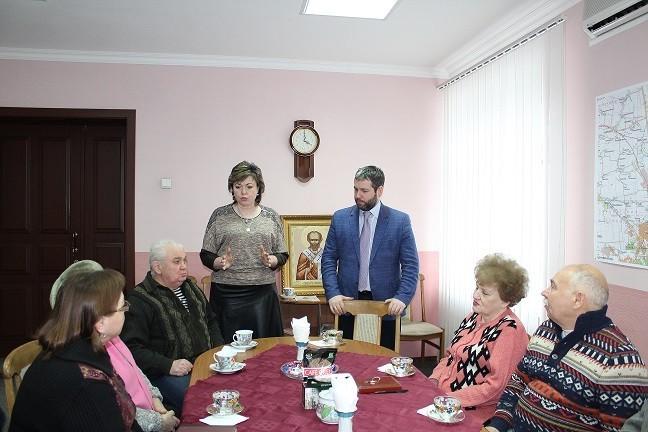 Заседание с председателями общественных организаций города