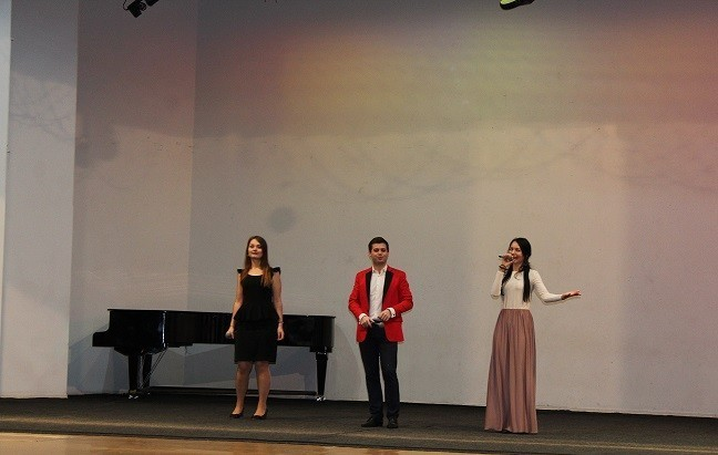 Праздничный концерт, посвященный празднованию Дня защитника Отечества