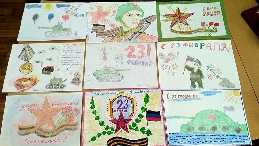 Подведены итоги конкурса детского рисунка в Ясиноватой