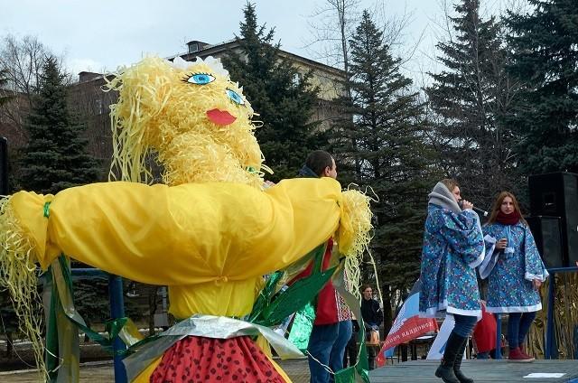 Масленица в Ясиноватой