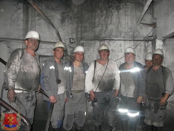Проведение аттестации рабочих мест по условиям для работников, занятых полный рабочий день на подземных работах