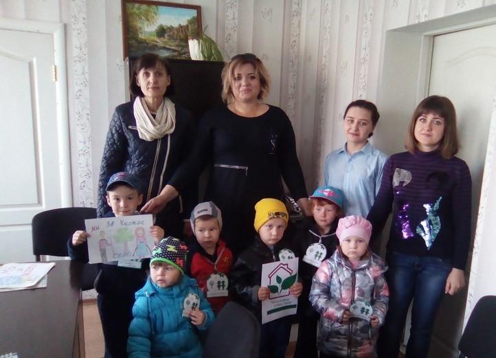 """Экологическая акция """"Мы за чистое село!"""""""