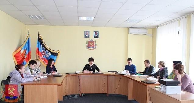 Заседание Организационного  комитета по подготовке и проведению Дня охраны труда в городе Ясиноватая