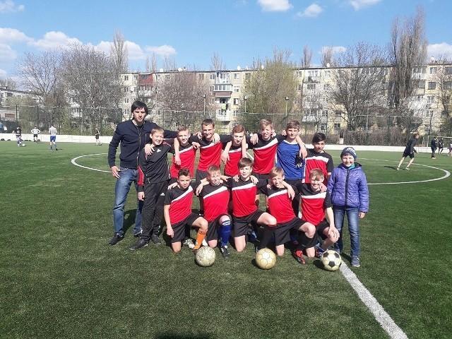 Матч по футболу