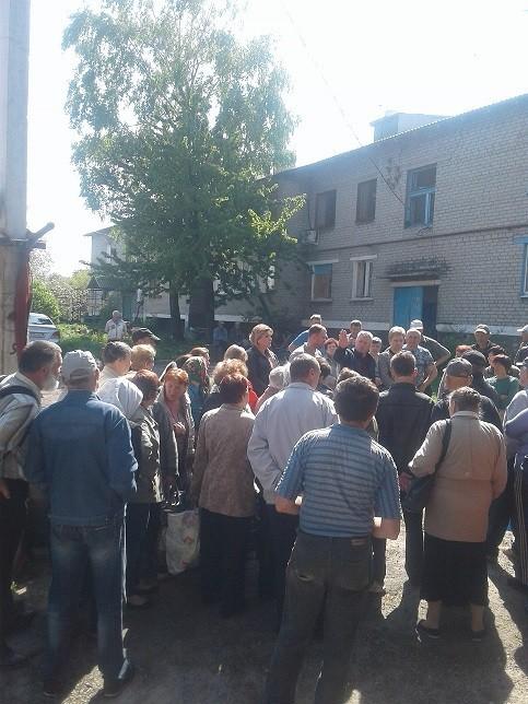 Выездная встреча с жителями села Спартак