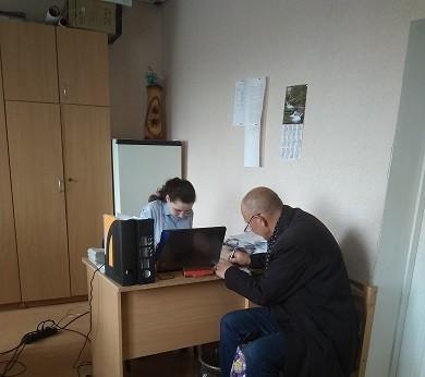 Работа с обращениями граждан Спартаковской сельской администрации  за апрель 2019г.