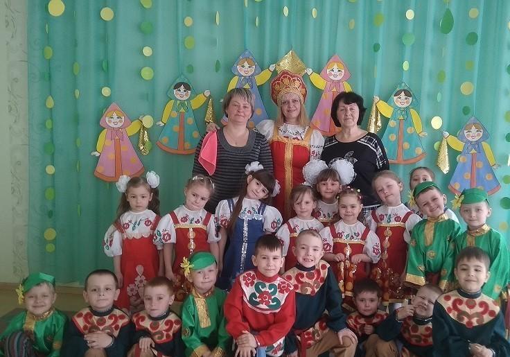Праздник русского языка в детском саду