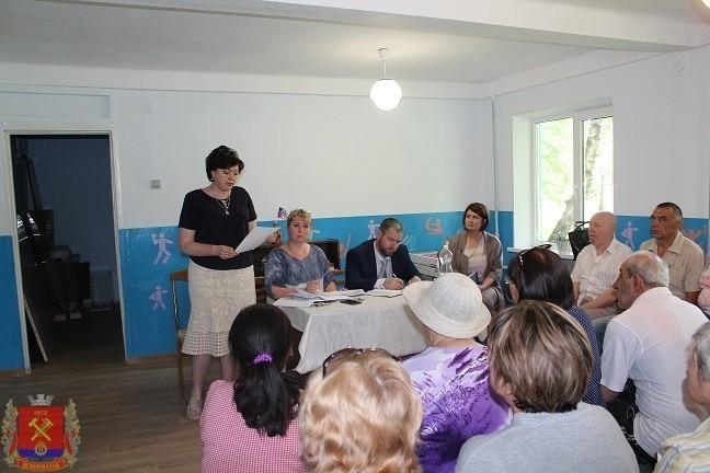 Встреча с жителями квартального комитета №10