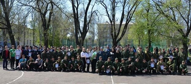 Отборочный этап военно-патриотических соревнований «Будущий воин»