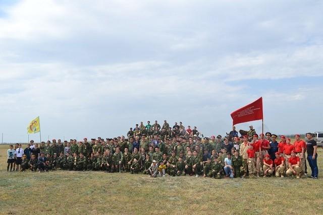 VII межрегиональный военно-спортивный лагерь «Георгий Победоносец»
