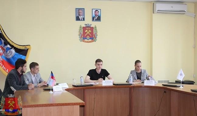 Встреча с председателем Молодежного Парламента в городе Ясиноватая