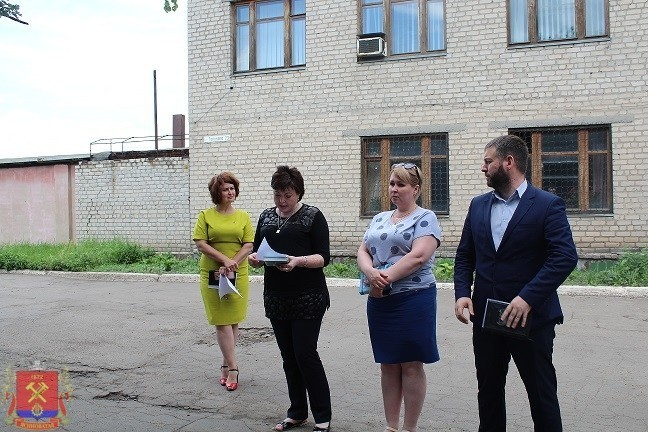 Сход граждан с жителями квартального комитета №4