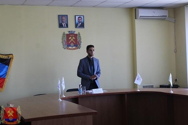 Встреча с представителем Молодежного Парламента ДНР