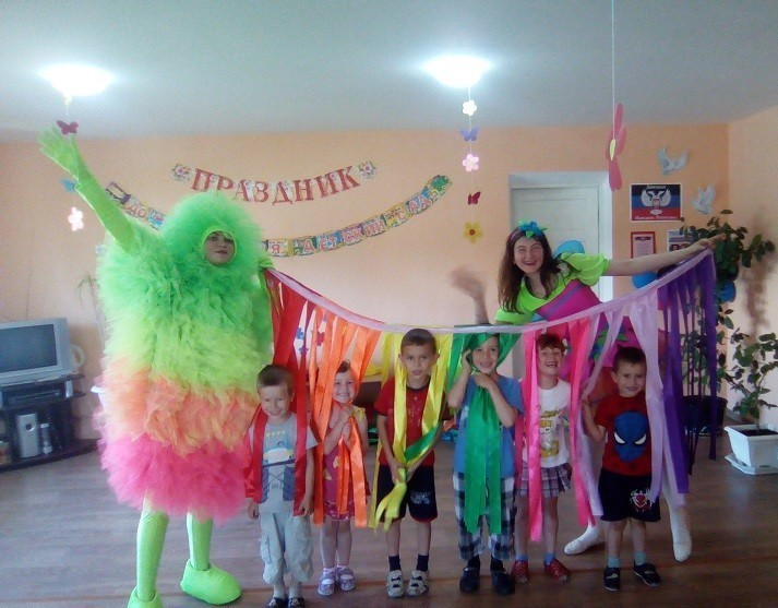 Праздник «День защиты детей» для воспитанников детского сада «Дюймовочка»