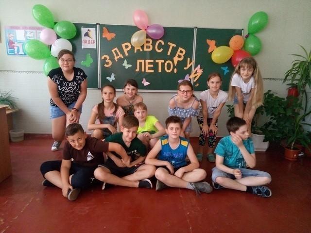 Открытие пришкольных лагерей и площадок досуга