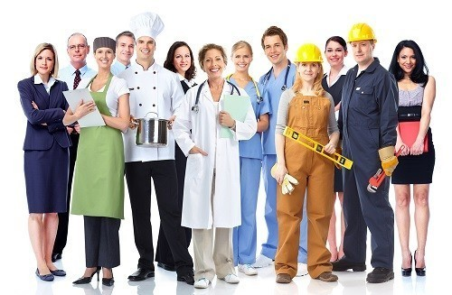 Наименования профессий,  должностей  в записях, вносимых в трудовую книжку и в материалах аттестации рабочих мест по условиям труда, при подтверждении льготного по возрасту пенсионного обеспечения согласно Спискам №1 и №2