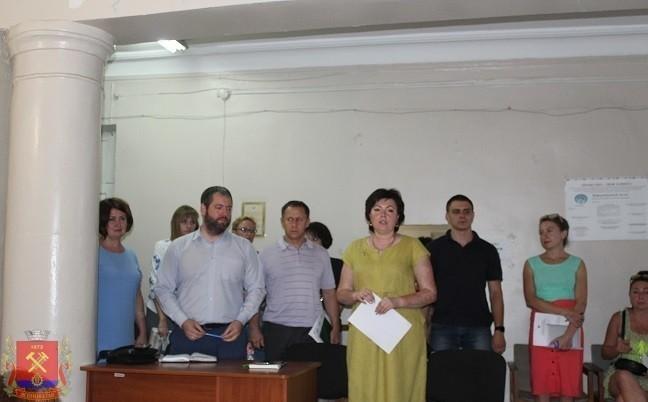 Встреча с коллективом КП «ККП г.Ясиноватая»