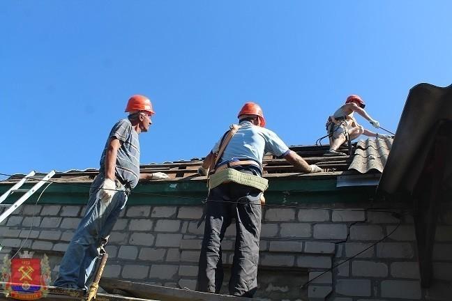 Восстановление домов частного сектора
