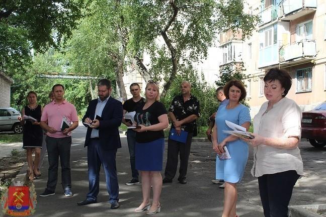 Сход граждан с жителями квартального комитета №2
