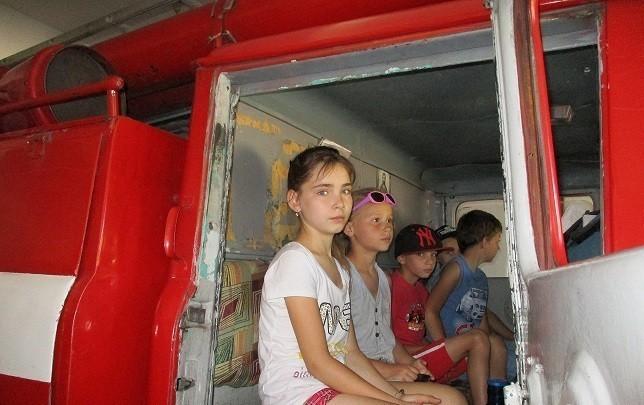 Экскурсия в пожарно-спасательную часть №57 ГПСО г. Ясиноватая