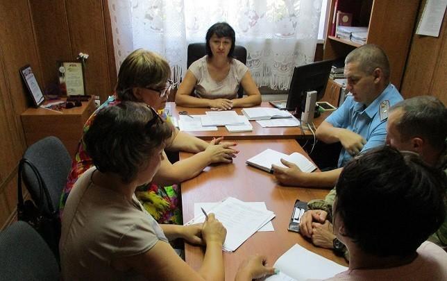 О проведении рабочей встречи по взаимодействию субъектов социальной работы по вопросам проведения профилактической работы с семьями, оказавшимися в сложных жизненных обстоятельствах