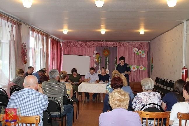 Встреча с жителями квартального комитета №5