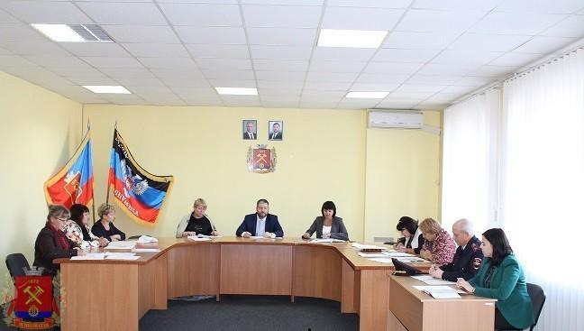 Заседание Комиссии по вопросам защиты прав детей