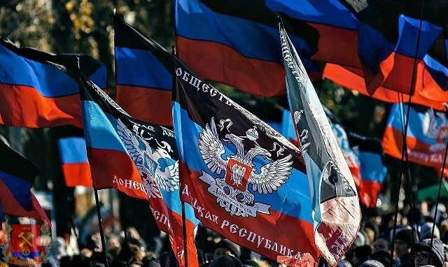Митинг ко Дню освобождения Донбасса!