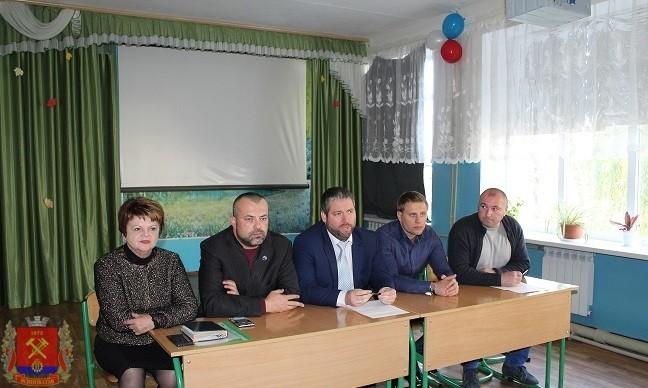 Встреча с представителями общественной палаты ДНР