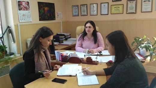 Начальник Ясиноватского управления юстиции провел рабочую встречу по вопросам государственной регистрации НПА