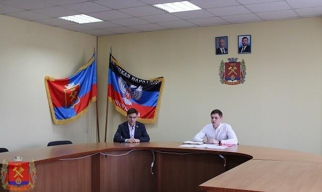 Встреча с председателем Молодежного Парламента