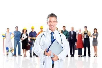 Медицинские  осмотры работников, занятых на тяжелых работах, работах с вредными или опасными условиями труда