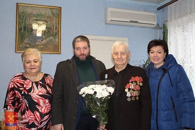 Поздравляем с юбилеем Кириченко Ф.И. – участника боевых действий
