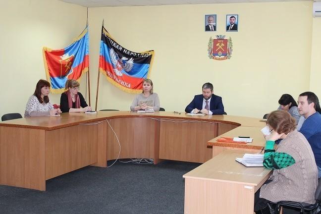 Заседание Рабочей группы по вопросам погашения задолженности по выплате заработной платы