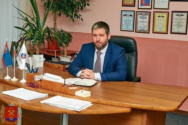 Поздравление главы администрации Д.С.Шевченко с праздником Крещения Господня