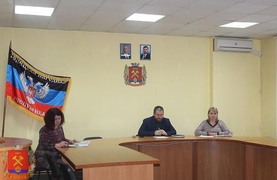 Встреча с трудовым коллективом КП «ККП города Ясиноватая»